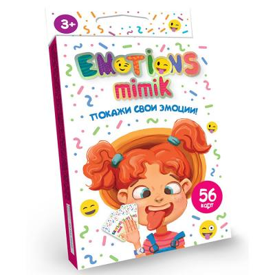 Игра Покажи свои эмоции Emotions Mimik /